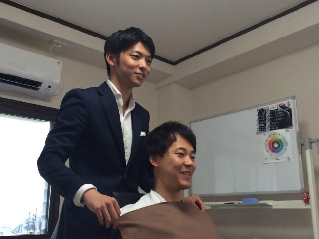 パーソナルカラー診断 男性 東京