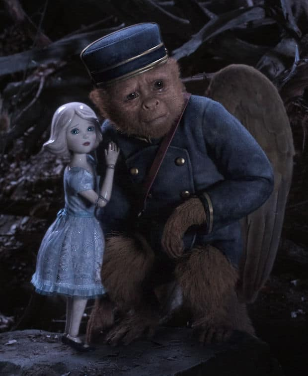 """OZ: THE GREAT AND POWERFUL"" China Girl (voiced by Joey King), left; Finley (voiced by Zach Braff), right ©Disney Enterprises, Inc. All Rights Reserved."