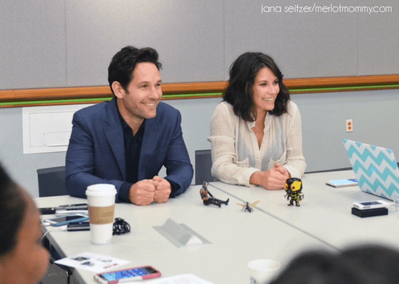 Paul Rudd and Evangeline Lilly From Ant-Man 2