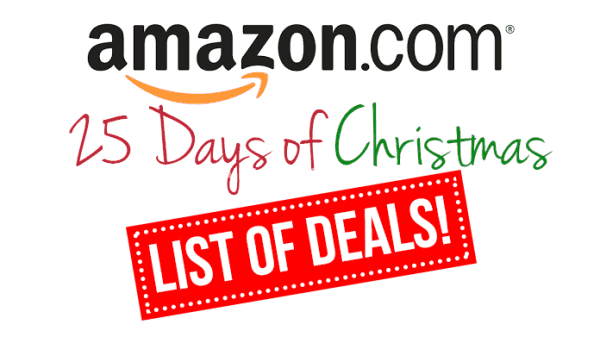 amazon christmas sale info 25 days of christmas products times schedule - Amazon After Christmas Sale