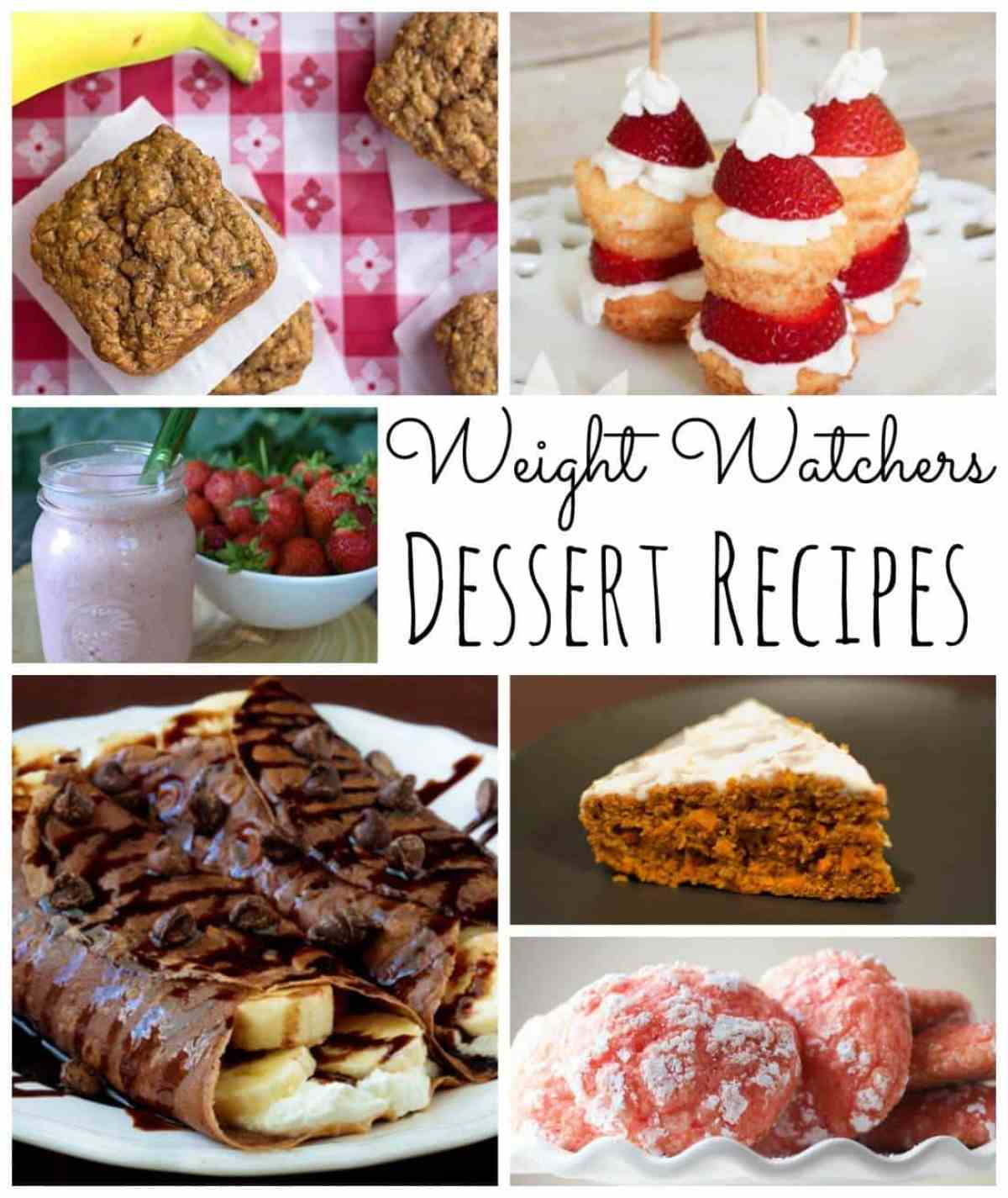 weight watchers dessert recipes