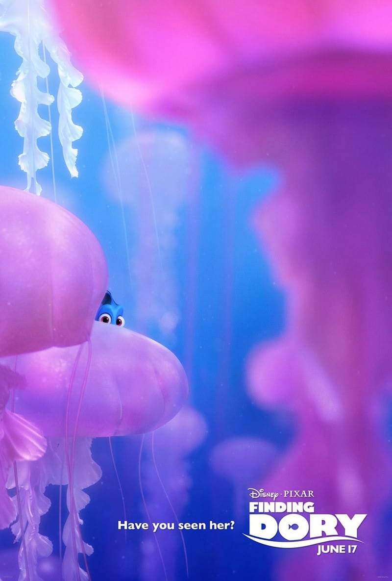 Finding Dory Poster ©2016 Disney•Pixar. All Rights Reserved