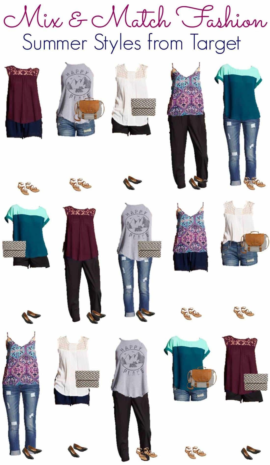 4.28 Mix & Match Fashion - Target Summer Styles VERTICAL