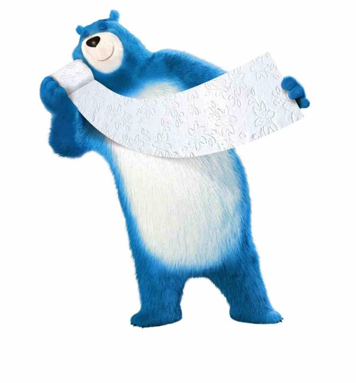 CHM Bears Blue UltraSoft Leonard WiderSheet