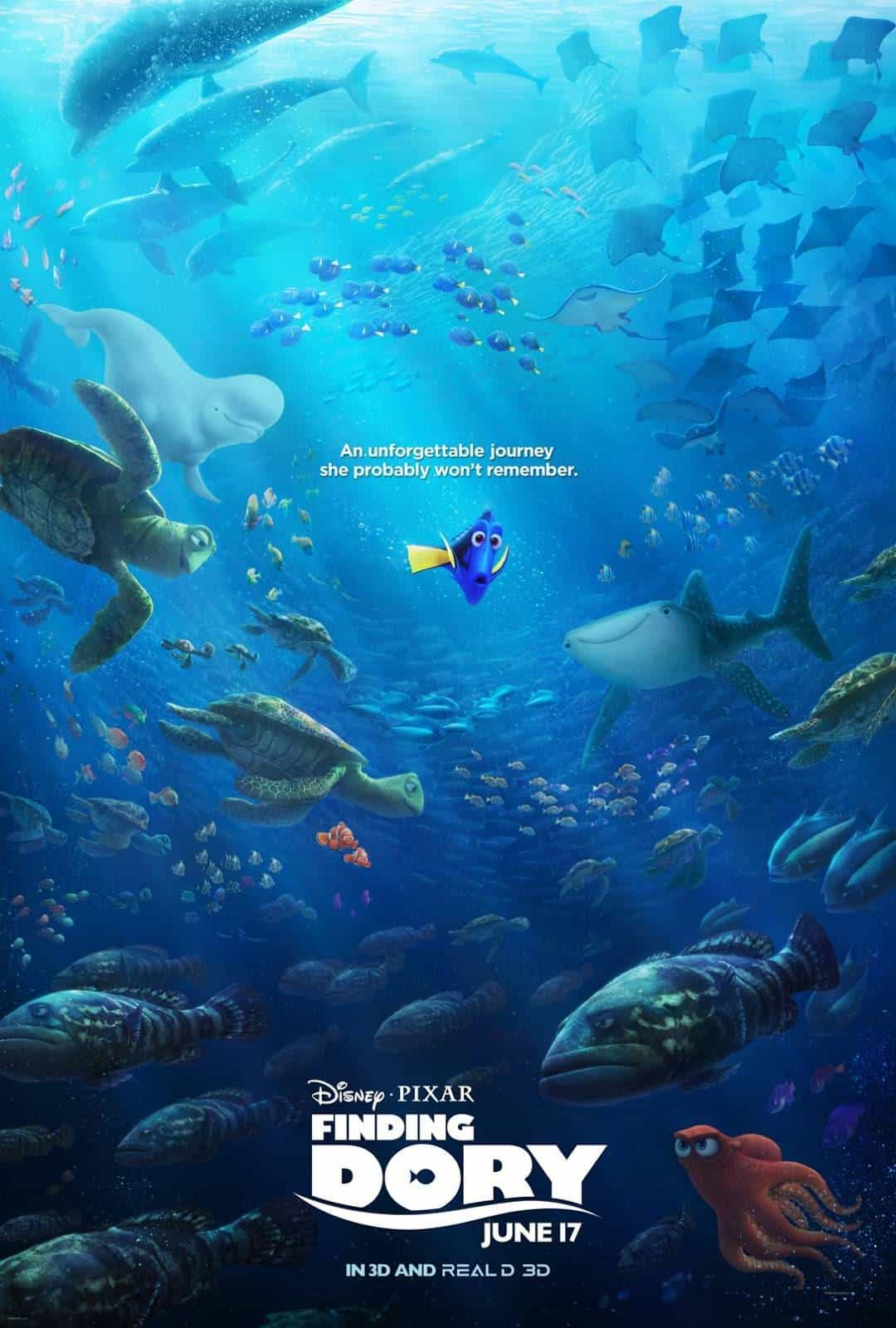 finding dory nuevo poster