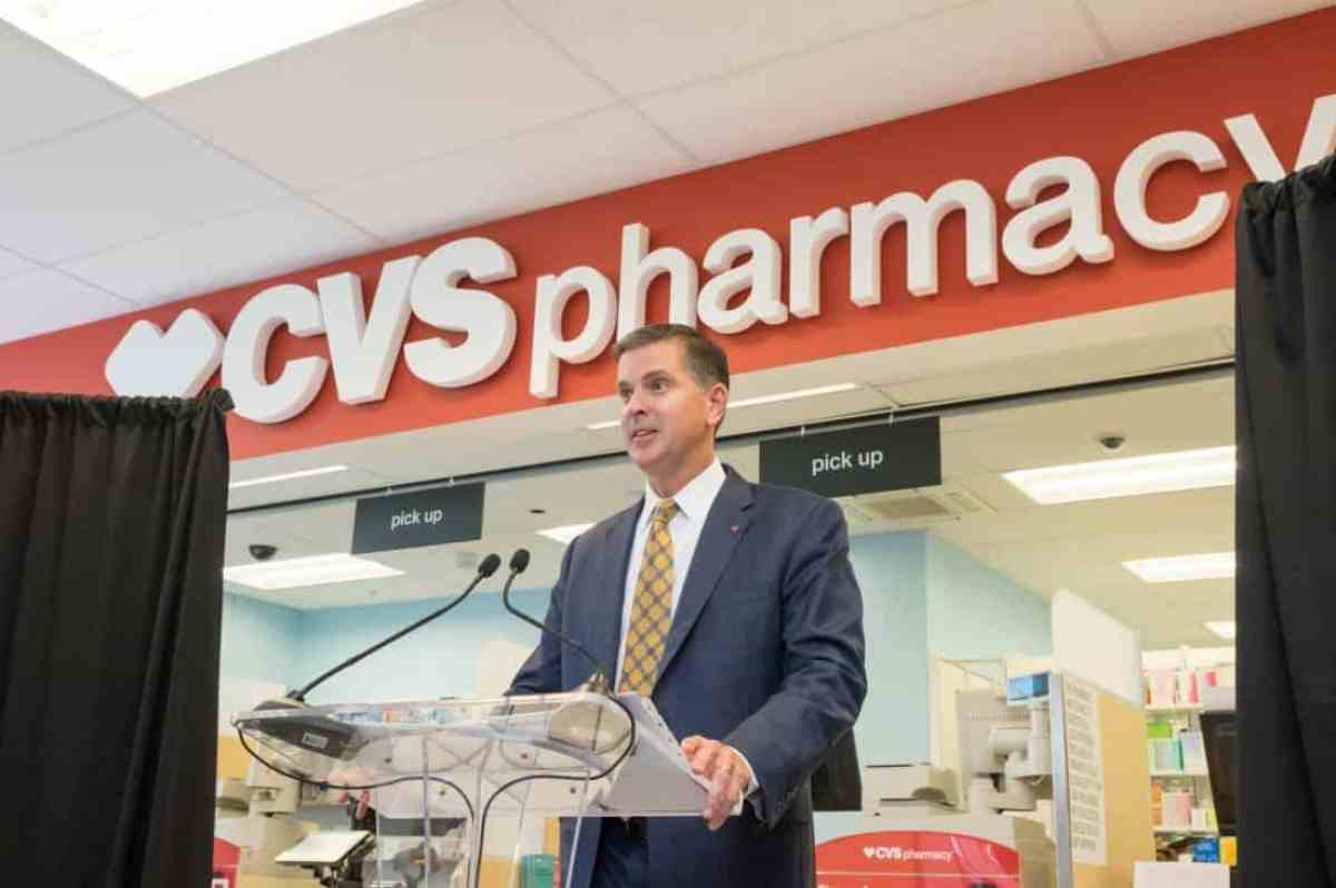 Tony Caskey, Area Vice President for CVS Pharmacy
