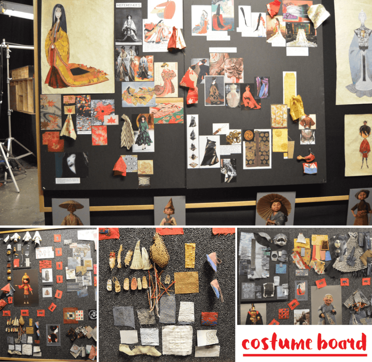 Kubo Costume Board