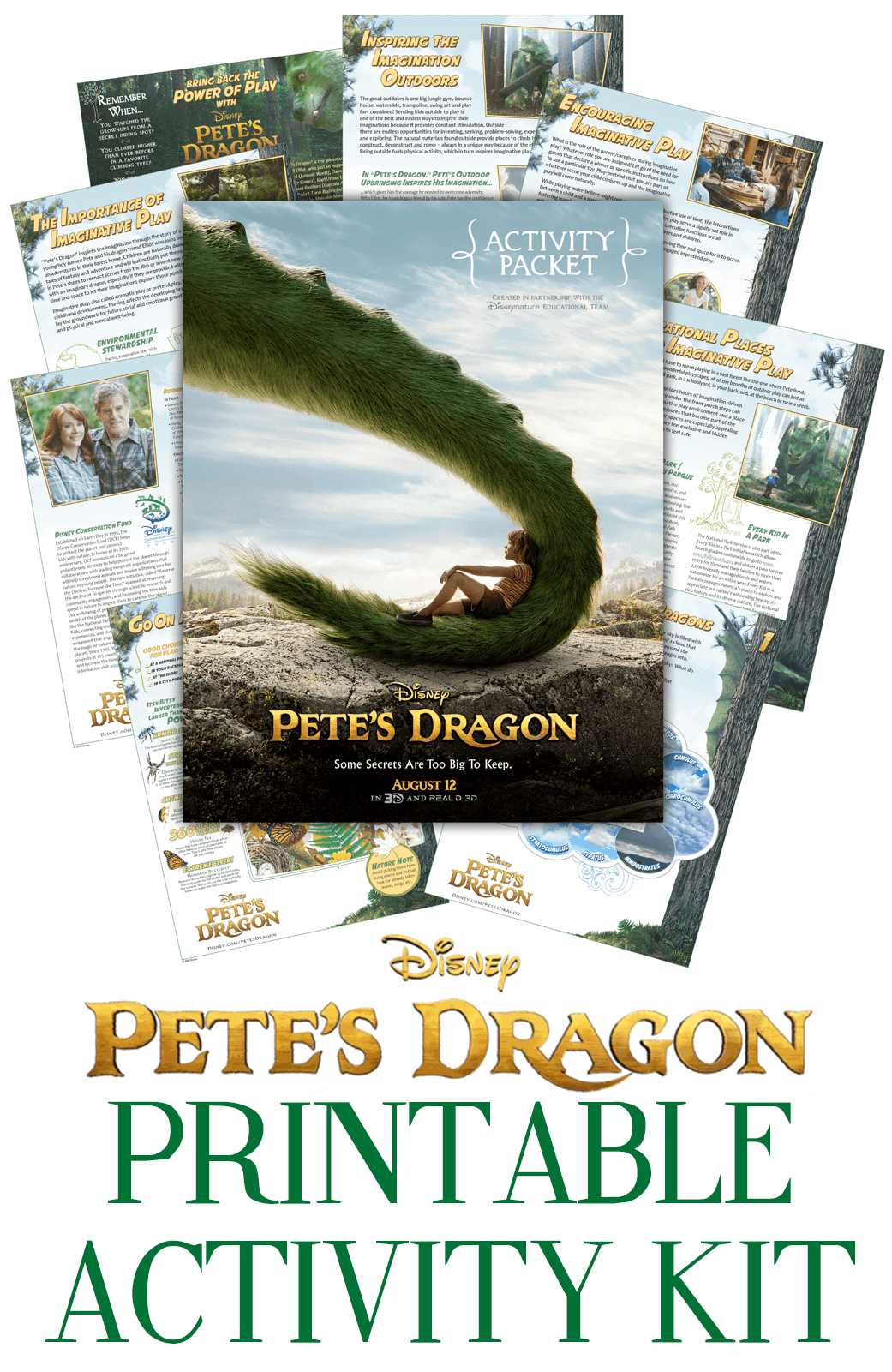 Pete's Dragon Activity Kit