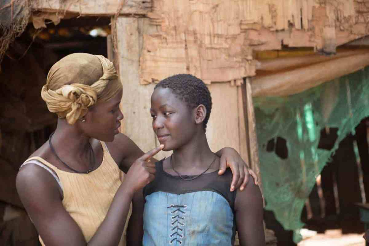 Lupita Nyong'o and Madina Nalwanga of Queen of Katwe (Disney)