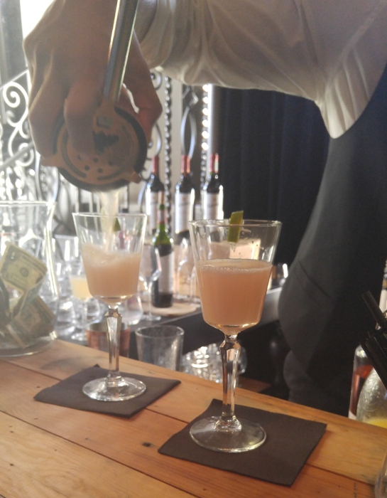 Making The Tully Cocktail