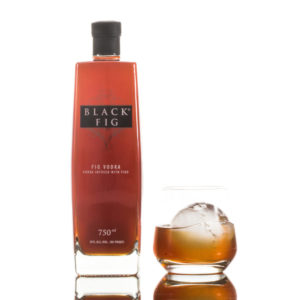 Black Fig btl w glass