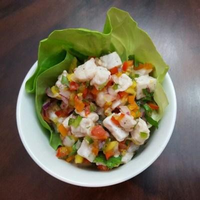 Island-style Mahi Mahi Ceviche