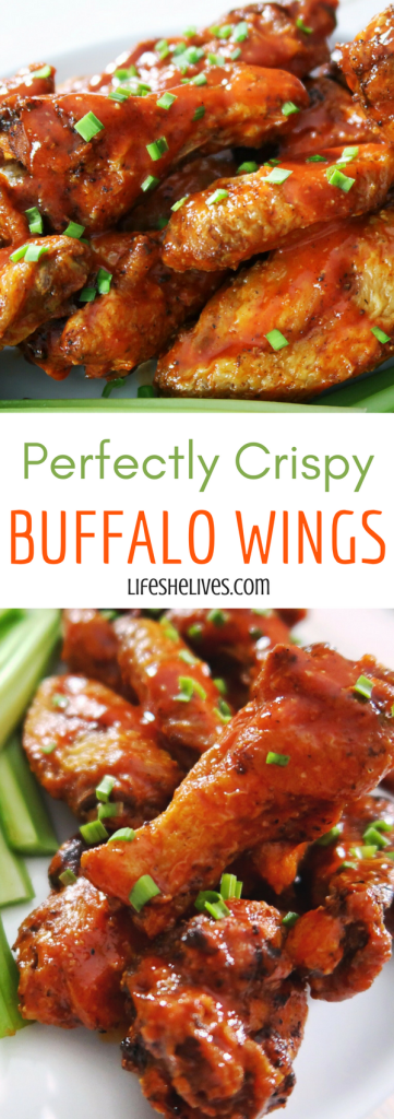 Crispy Buffalo Wings | Appetizers | Snacks | Side Dishes | Party Apps