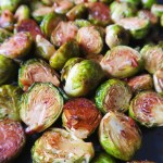 Balsamic Roasted Brussels Sprouts With Garlic