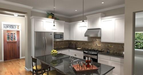 3D Kitchen Rendering by 3DPlanView.com