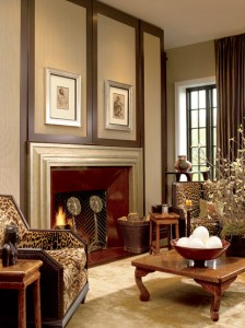 Room designed by Suzanne Lovell