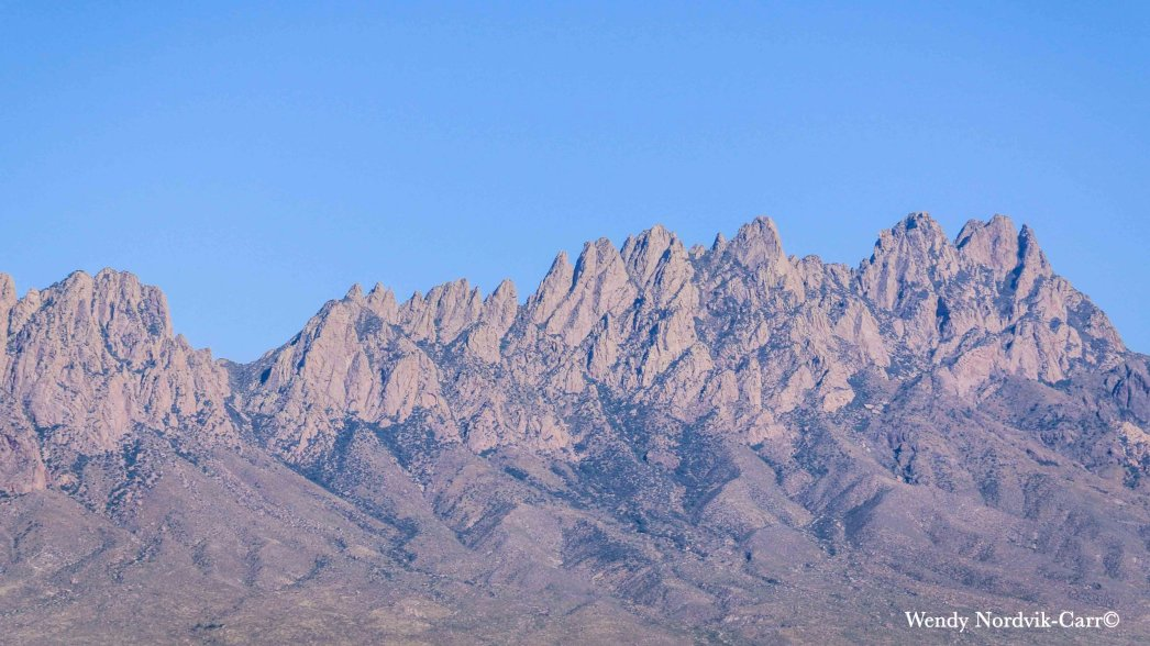 Organ Mountains–Desert Peaks National Monument New Mexico. Photo: Wendy Nordvik-Carr©