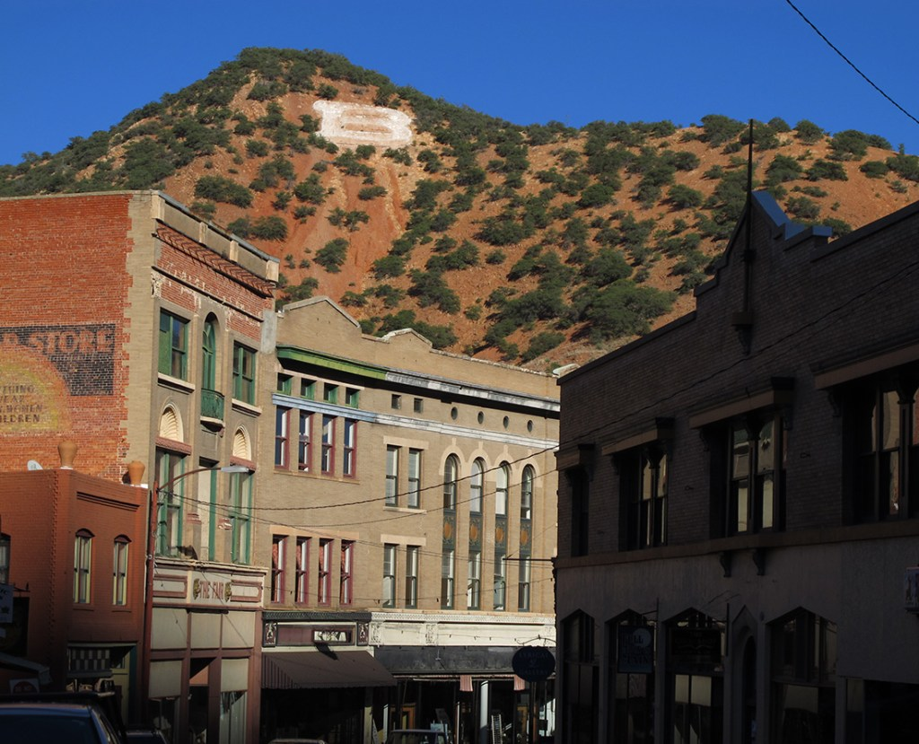 One of the top things to do in Bisbee, Arizona is to explore the historic buildings on Main Street.