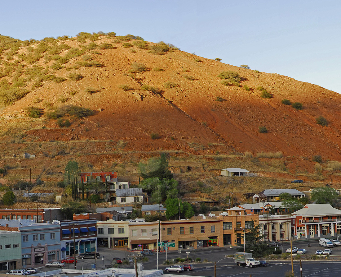 Travel to Bisbee to discover one of those great, small southwest America towns where time has stood still. Photo Credit: Chuck Feil, Bisbee Visitor Center
