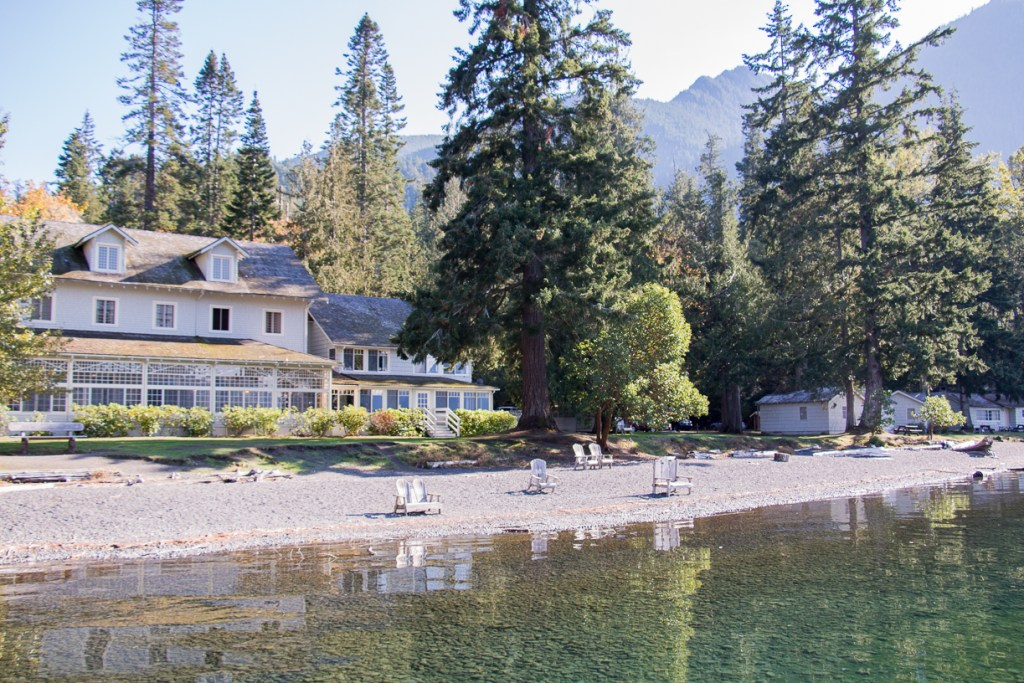 Lake Crescent Lodge on the shore of the stunning reflective lake by the same name. Useful trip planning tools for Olympic National Park. Always check road, trail and weather conditions. It is a wild, vast wilderness of nature at its best. Photo credit: Wendy Nordvik-Carr©