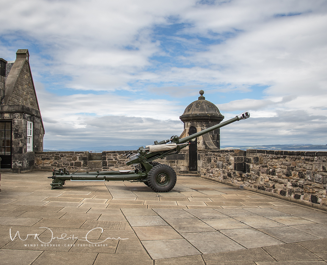 The One o'clock gun at Edinburgh Castle. Discover Edinburgh Castle highlights and things to do in medieval Edinburgh. Explore Old Town and New Town along with the many museums, monument, memorials and galleries of this historic city. Photo Credit: Wendy Nordvik-Carr