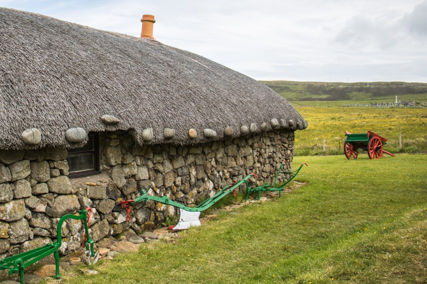 This incredible 19th century crofting village museum shows how crofters lived on the Isle of Skye 100 years ago. Photo Credit: Wendy Nordvik-Carr ©