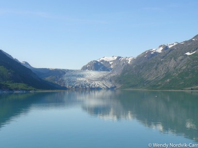 Discover glaciers on an Alaska Cruise. Photo Credit: Wendy Nordvik-Carr©