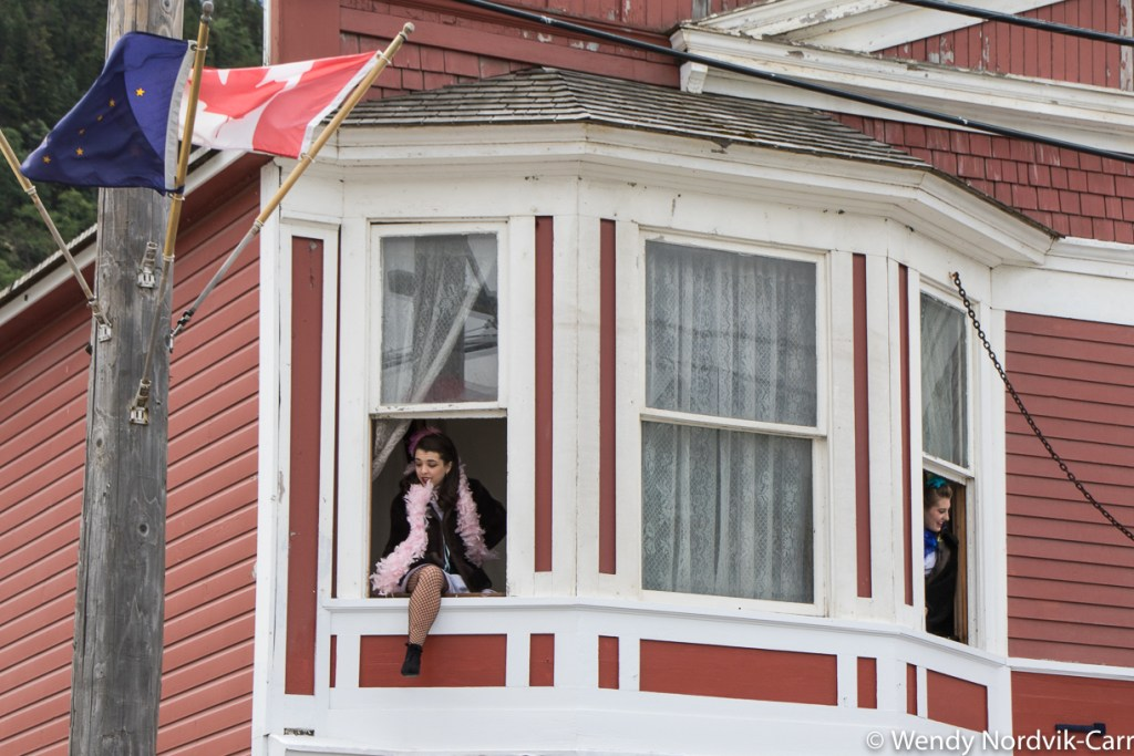 Working girls in the Red Light District of historic Skagway. Discover the breathtaking scenery of Alaska wilderness. Explore top things to do while in Skagway. Photo Credit: Wendy Nordvik-Carr