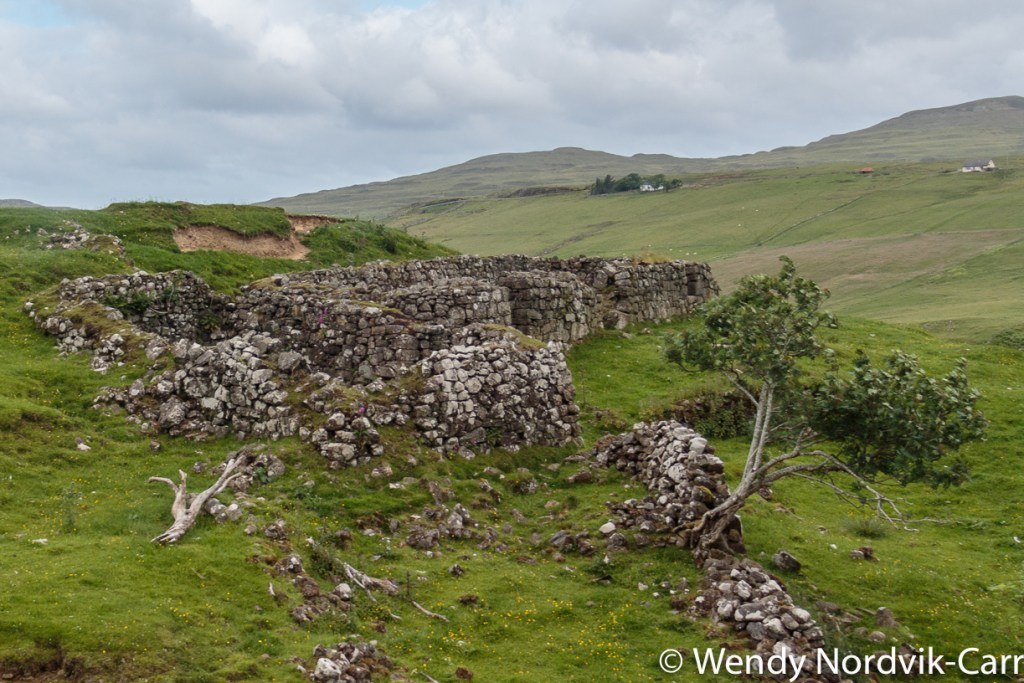 Getting to the Fairy Glen -