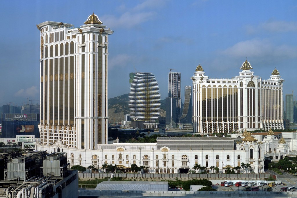 "Macau is sometimes called the ""Monte Carlo of the Orient"" and ""Las Vegas of the East""."