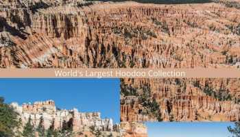 Best viewpoints in Bryce Canyon National Park to see the world's largest hoodoo collection.