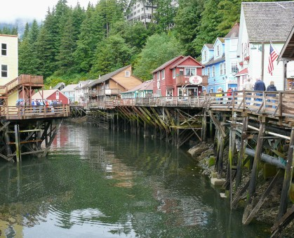 Historic Creek Street in Ketchican, Alaska is not to be missed. Photo Credit: Wendy Nordvik-Carr©