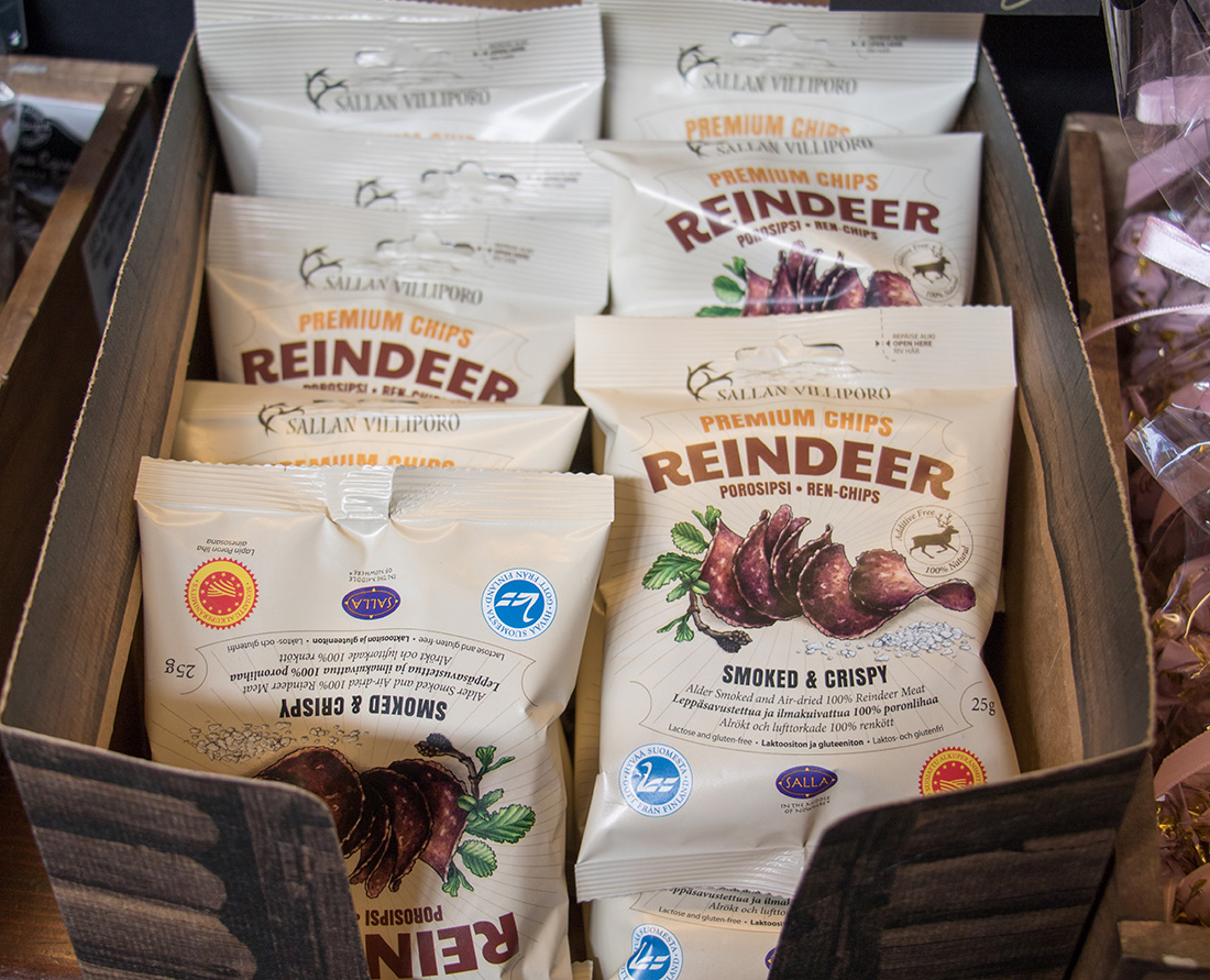 Smoked and crispy reindeer chips offered at the markets of Helsinki. Helsinki is part of the designated UNESCO Creative Cities Network. Here are the top things to do in Helsink Finland a City of Design.
