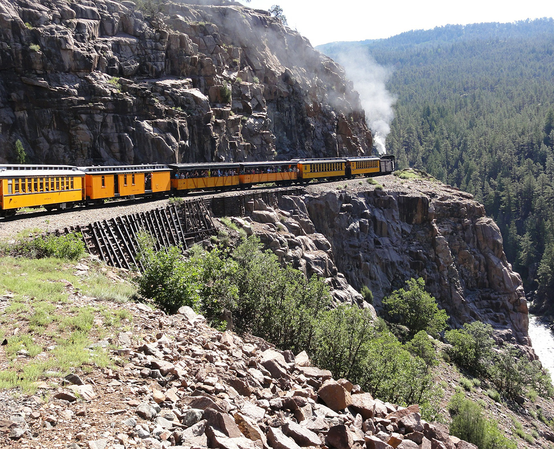Ride the Durango Train - top things to do