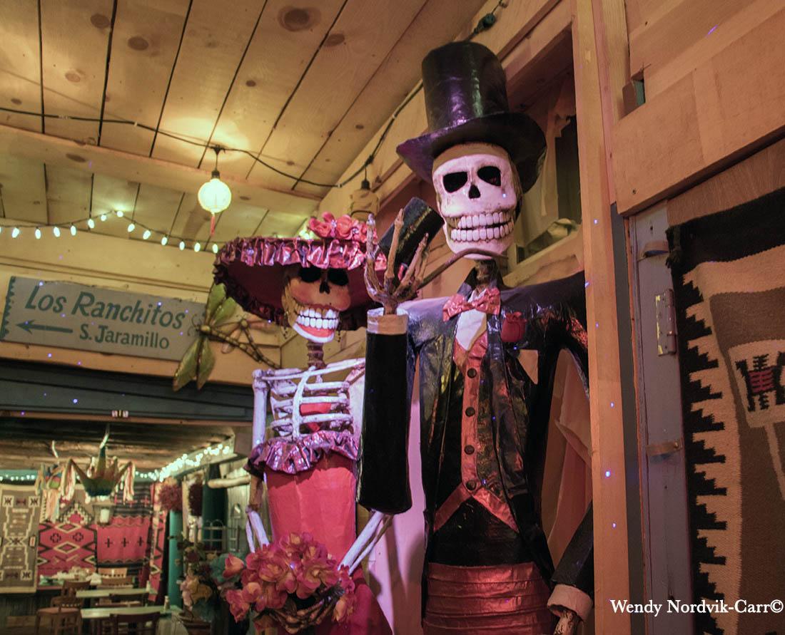 Inside Casa Chimayo Restaurant, Santa Fe, New Mexico. Photo: Wendy Nordvik-Carr©