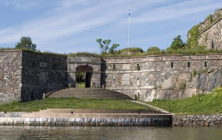 "The historic Suomenlinna fortress is known as the 'Castle of Finland"". One of the top things to do in Helsinki is to visit the ""Castle of Finland"" Suomenlina. It is a designated UNESCO World Heritage Site. Photo archives of the Governing Body of Suomenlinna, Photographer Yrjö Tuunanen©"
