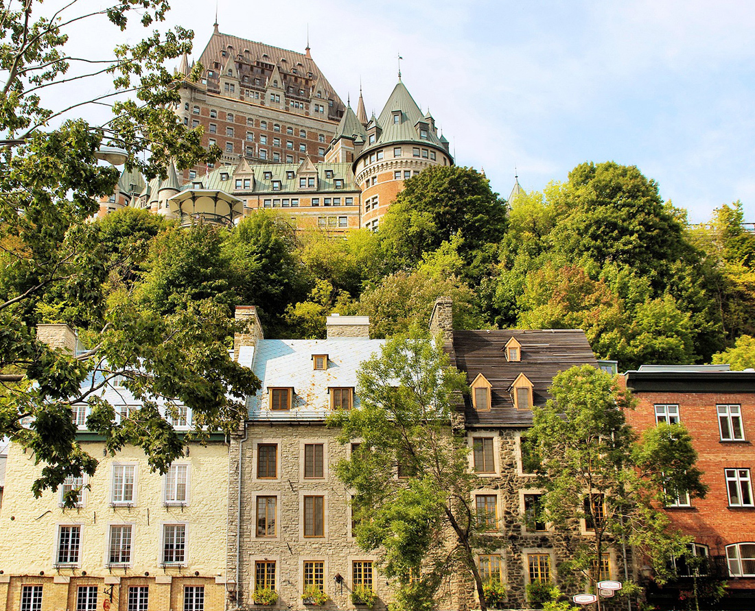 Discover the old world charm of historic Old Quebec in Quebec City, Quebec.