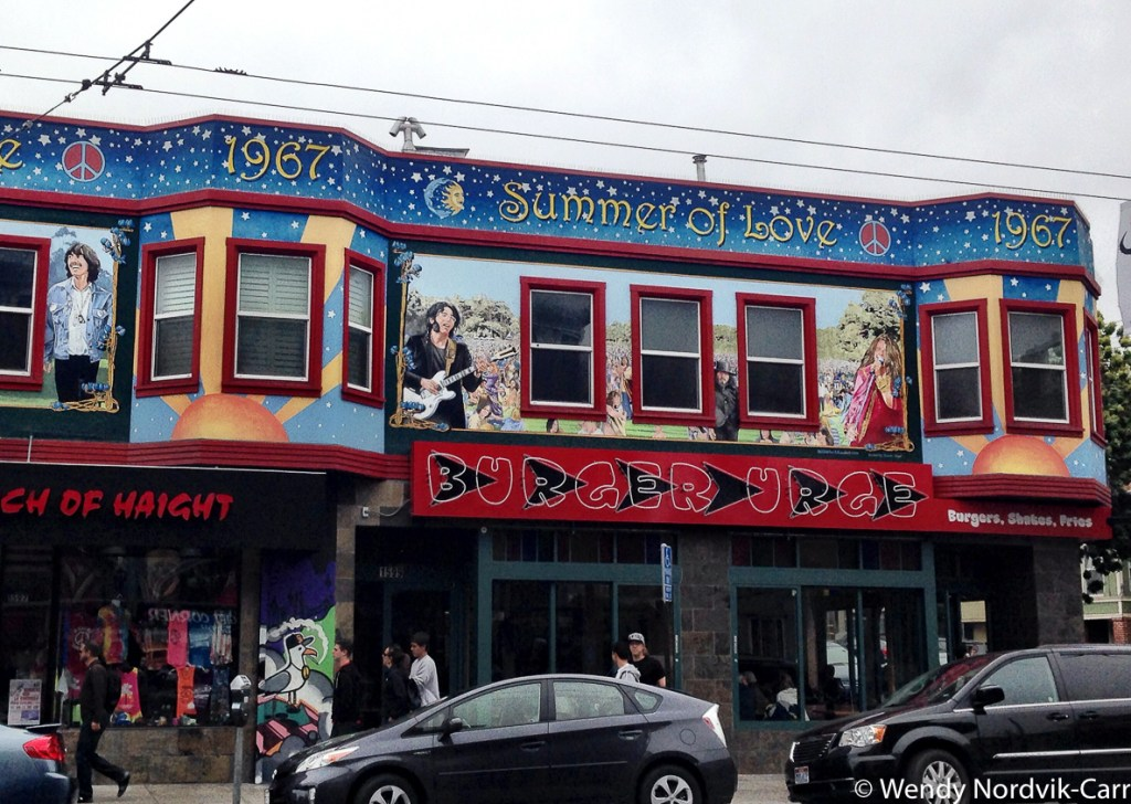 Discover the 60s hippie haven, Haight-Ashbury one of the top things to do in San Francisco. Photo Credit: Wendy Nordvik-Carr