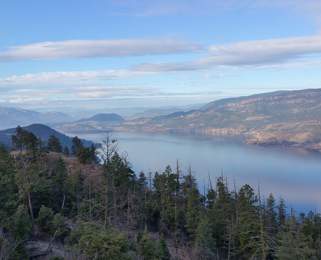 One of the most scenic drives in British Columbia. Visit the beautiful Okanagan in BC - One of the top things to do