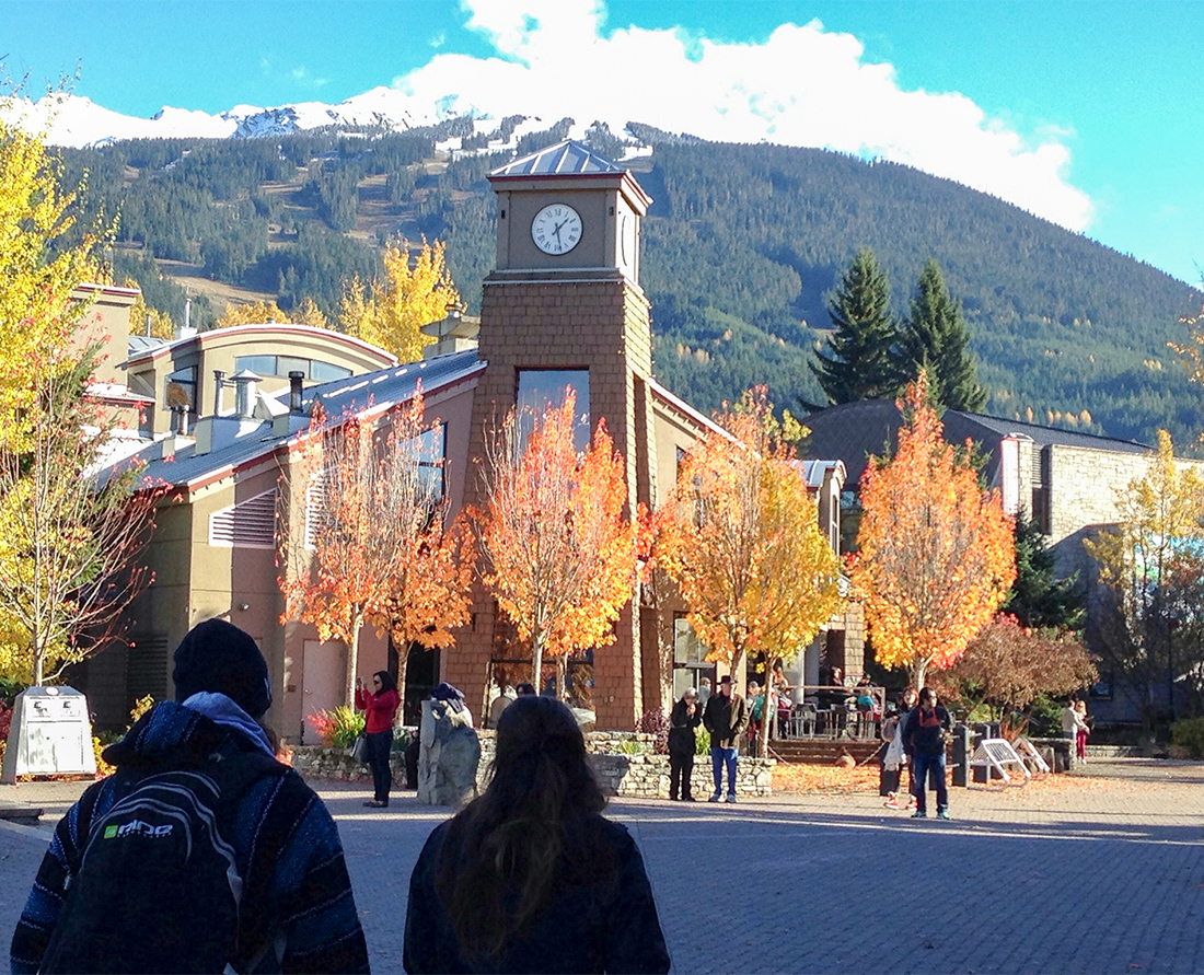 Whistler's beautiful fall colours. Photo Credit: Wendy Nordvik-Carr