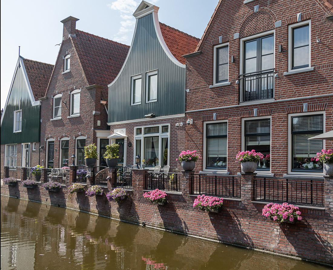 Charming Dutch town of Volendam with Historic streets and canals. Photo Credit: Wendy Nordvik-Carr©