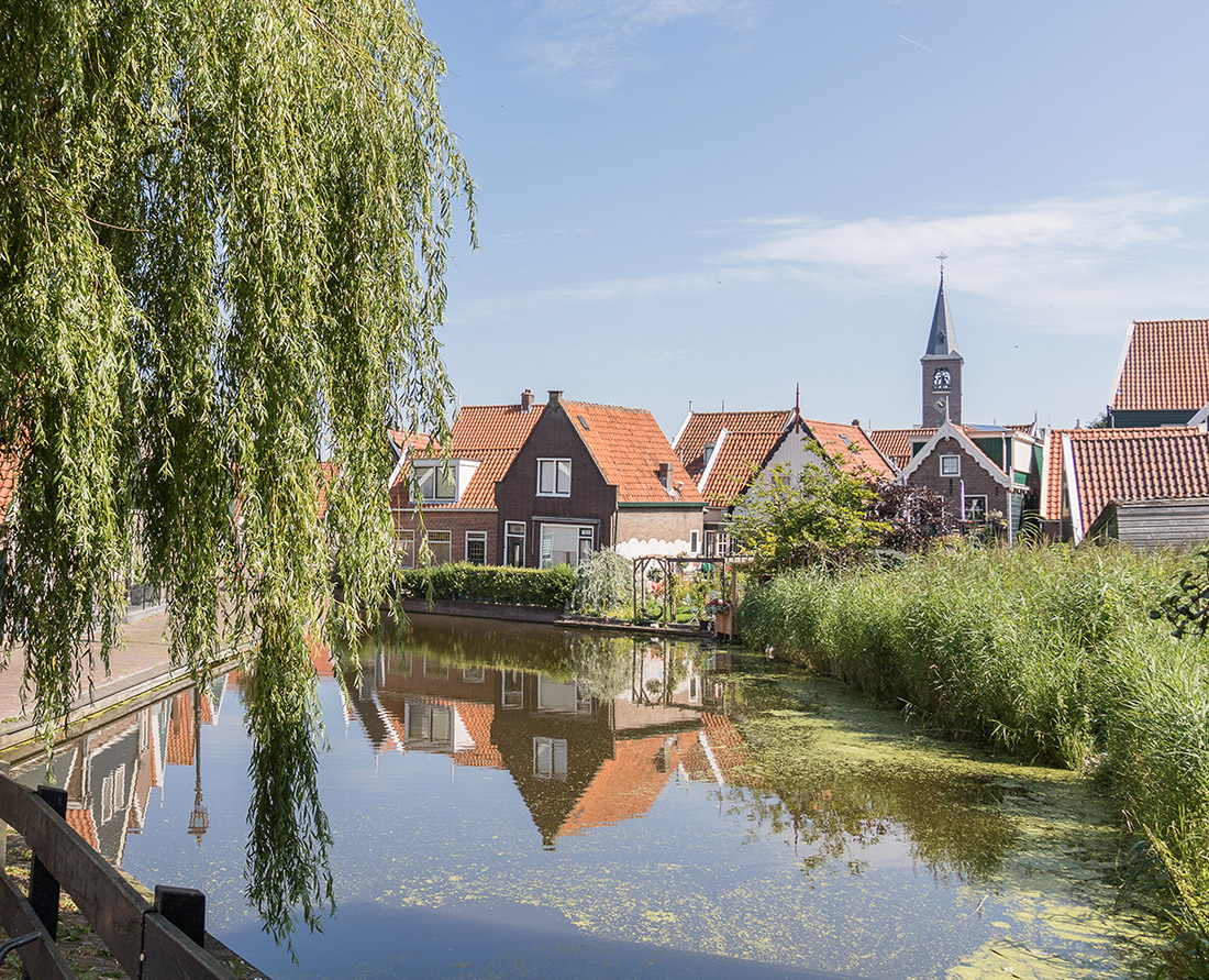 The historic streets of the charming town of Volendam in the Dutch countryside. Photo Credit: Wendy Nordvik-Carr©