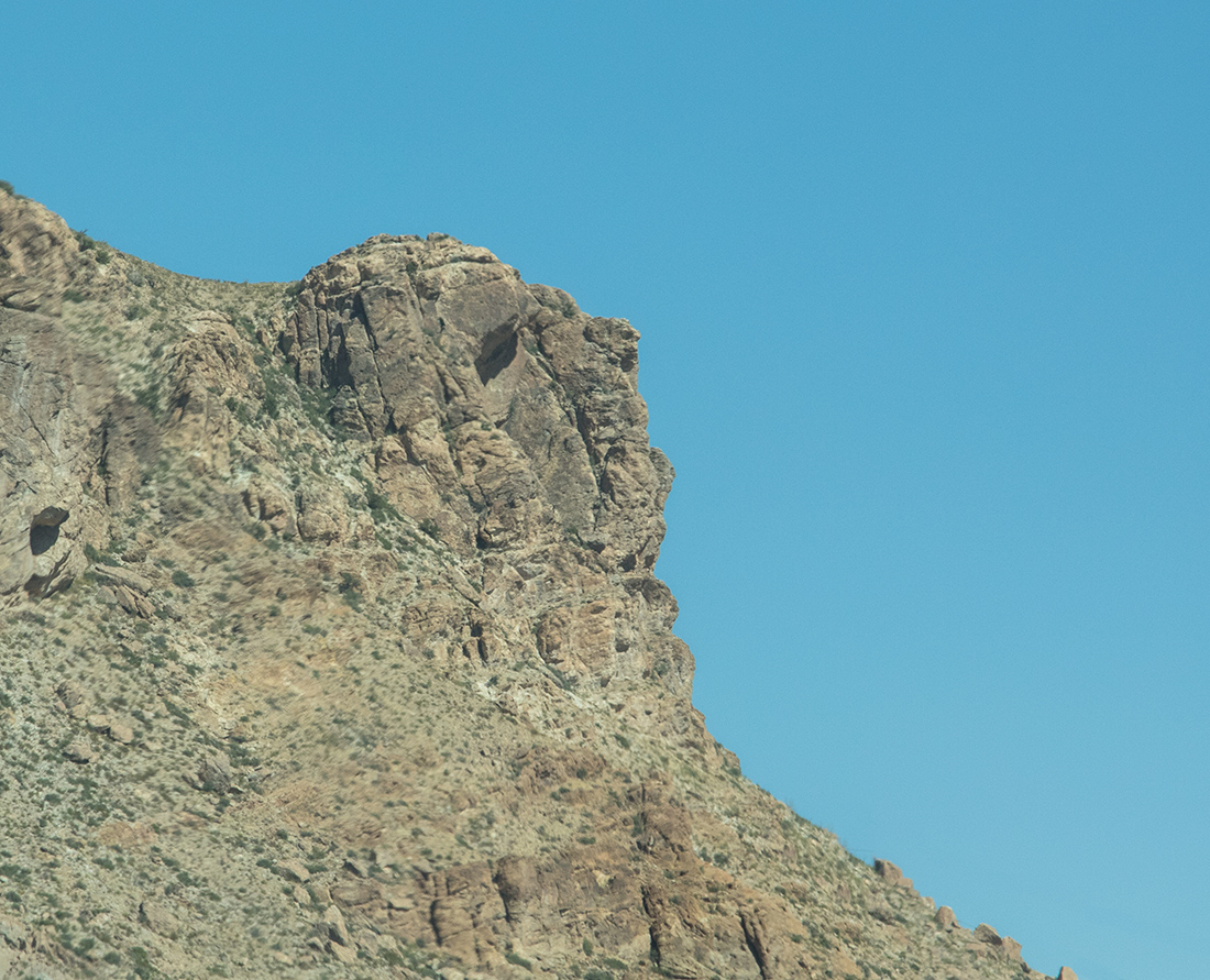 Can you see the likeness of the famous Apache Chief Geronimo's face in the mountainside? Look for it near Willcox, Arizona as you continue east to New Mexico.