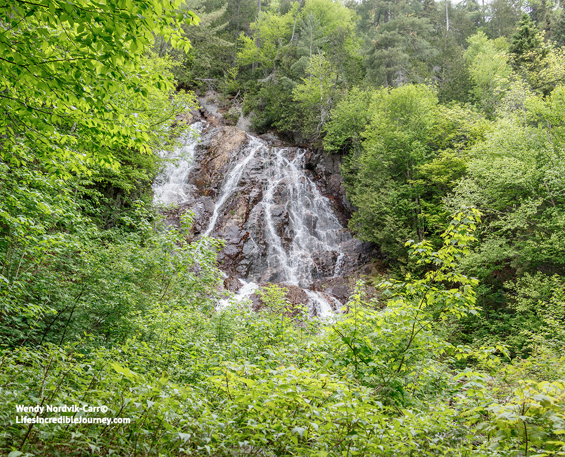 Breathtaking Bridal Veil Falls in spectacular Agawa Canyon Park. Photo Credit: Wendy Nordvik-Carr©