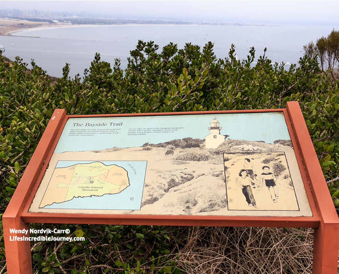 San Diego's Cabrillo National Monument offers sweeping ocean views from the rugged sandstone cliffs. Photo Credit: Wendy Nordvik-Carr©
