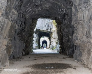 Explore Othello Tunnels, a unique BC Experience. Photo Credit: Wendy Nordvik-Carr©