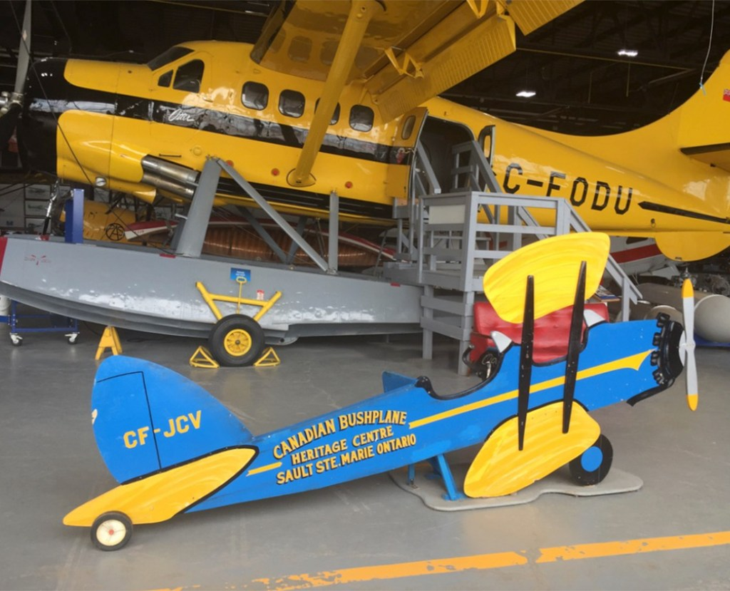 Visit the Canadian Bushplane Heritage Centre is one of the best things to do in Sault Ste. Marie