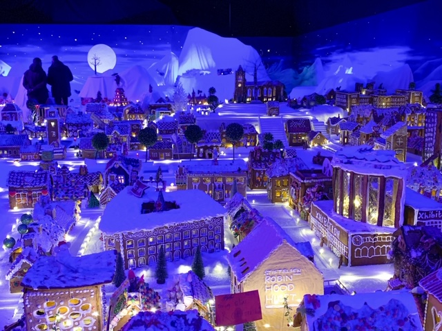 This gingerbread town is the largest in the world. It is found in Bergen Norway. Photo Credit: Wendy Nordvik-Carr©