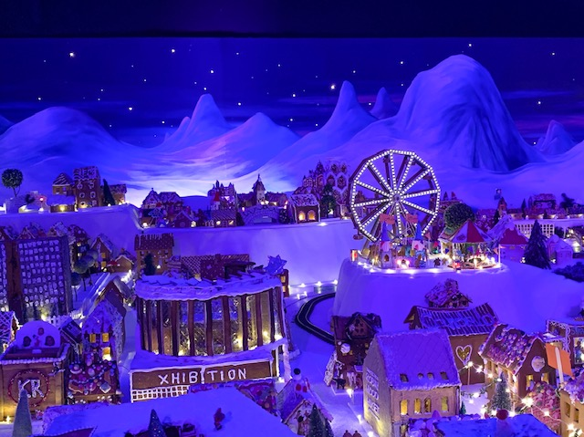 Pepperkakenbyn, the world's largest gingerbread village in the world, Bergen, Norway. Photo Credit: Wendy Nordvik-Carr©