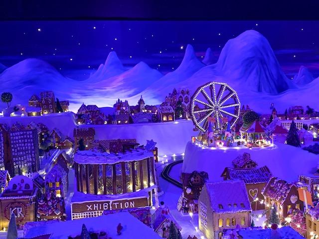 Pepperkakenbyn, the world's largest gingerbread village in the world, Bergen, Norway. Photo Credit: Wendy Nordvik-Carr©